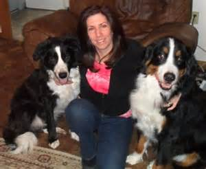 Lori and two of her dogs